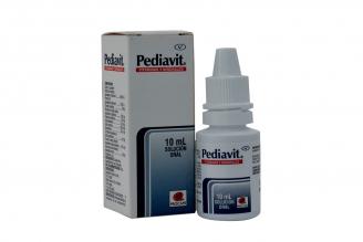 Pediavit Gotas Solución Oral Caja Con Frasco Con 10 mL