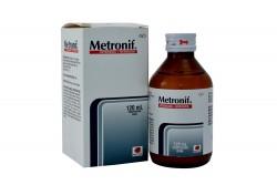 Metronif Suspensión Oral Caja Con Frasco Con 120 mL Rx2