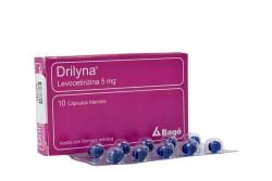 Drilyna 5 mg Caja X 10 Cápsulas Rx