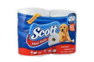 Papel Hig Scott Maxi Tri H  Ng4 Roll