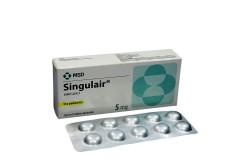 Singulair 5 mg Caja Con 30 Tabletas Masticables Rx