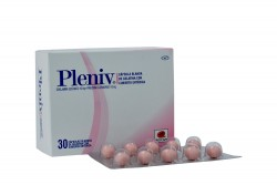 Pleniv Caja Con 30 Cápsulas Blandas De Gelatina Con Cubierta Entérica Rx