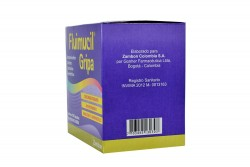 Fluimucil Gripa Cápsulas Caja x 100