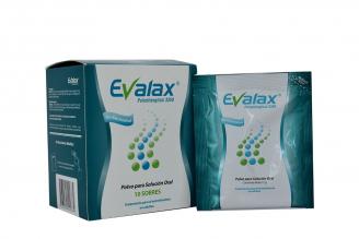 Evalax Polietilenglicol 3350 Polvo Para Solución Oral Caja Con 10 Sobres