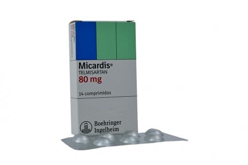 Micardis 80 mg Caja Con 14 Comprimidos Rx