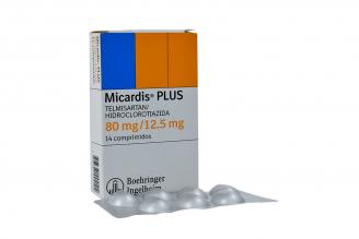 Micardis Plus 80  / 12.5 mg Caja Con 14 Comprimidos Rx