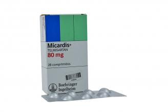 Micardis 80 mg Caja Con 28 Comprimidos Rx