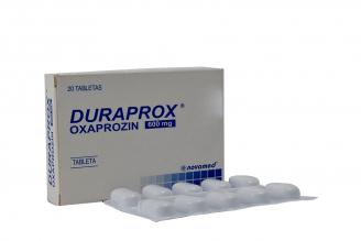 Duraprox 600 mg Caja Con 20 Tabletas Rx
