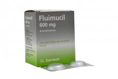 Fluimicil 600 mg Caja Con 20 Comprimidos Efervecentes Rx