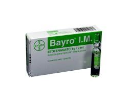 Bayro I.M. 1 g Caja x 1 Ampolla 2 mL Rx
