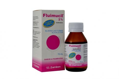 Fluimucil 2% Caja Con Frasco Con 75 mL