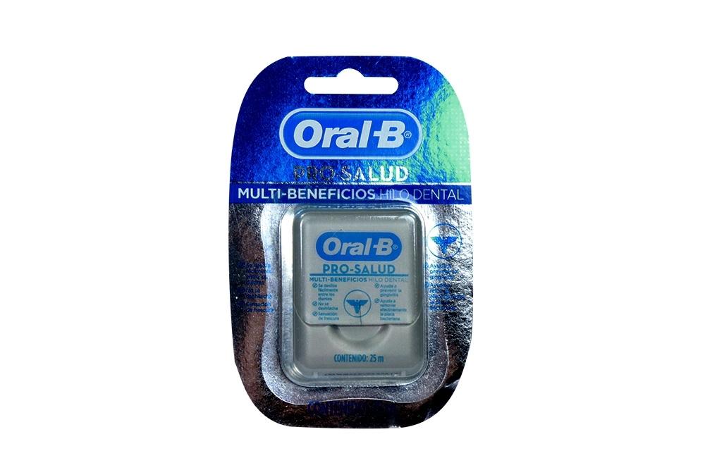 Seda Dental Oral-B Pro-Salud Empaque Con Caja Con 25 m