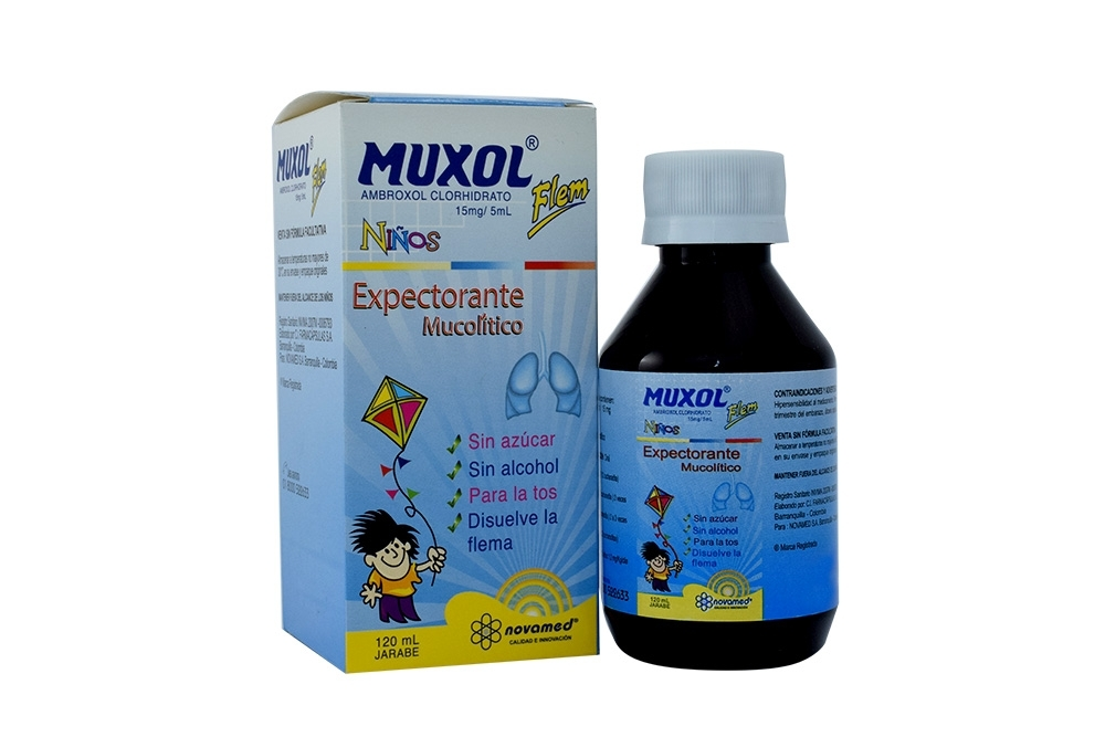 Comprar Muxol Flem Niños Jarabe x 120 mL En Farmalisto