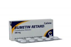 Bumetin Retard 300 mg Caja Con 20 Tabletas De Liberación Prolongada Rx