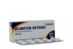 Bumetin Retard 300 mg Caja x 20 Tabletas De Liberación Prolongada Rx