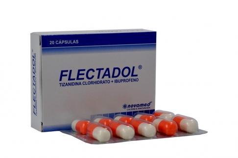 Flectadol Caja Con 20 Cápsulas Rx