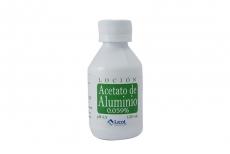 Acetato De Aluminio Frasco x 120 mL