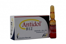 Antidol B 12 Caja x 3 Ampollas Rx