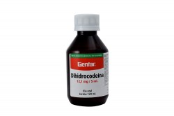 Dihidrocodeina 12,1mg / 5 mL Frasco x 120 mL Jarabe Rx