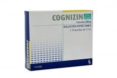 Cognizin 500 mg Solución Inyectable Caja Con 5 Ampollas Con 2 mL C/U Rx4