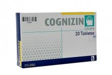 Cognizin 500 mg Caja Con 20 Tabletas Rx4