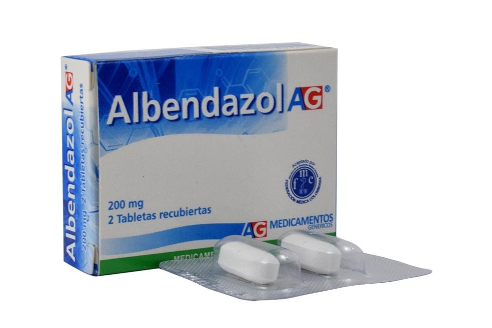 ALBENDAZOL MK (Intestinales y genitourinarios ...