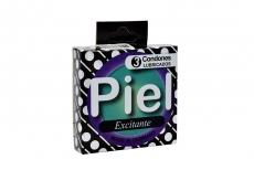 Preservativo Piel Excitante Caja X 3 Condones