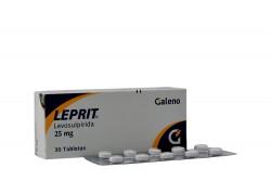 Leprit 25 mg Caja Con 30 Tabletas Rx