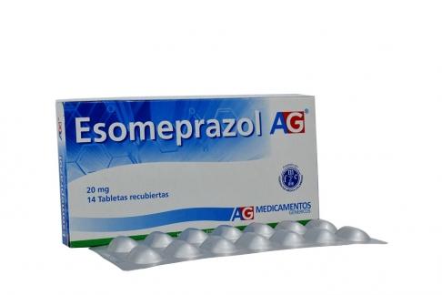 Esomeprazol 20 mg Caja X 14 Tabletas Rx