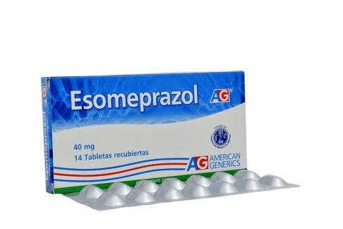 Esomeprazol 40 mg Caja Con 14 Tabletas RX