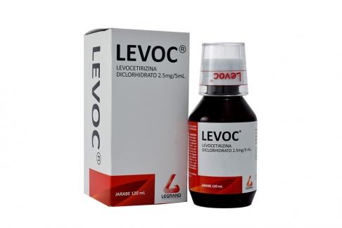 Levoc 2.5 mg / 5 mL Caja Con Frasco x 120 mL