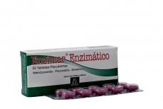 Enzimar Enzimatico X 30 Tabletas  Rx