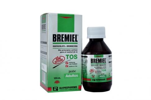 Bremiel Jarabe Para Adultos Caja Con Frasco Con 120 mL