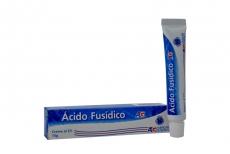 Ácido Fusidico Crema Caja Con Tubo X 15 g Rx2