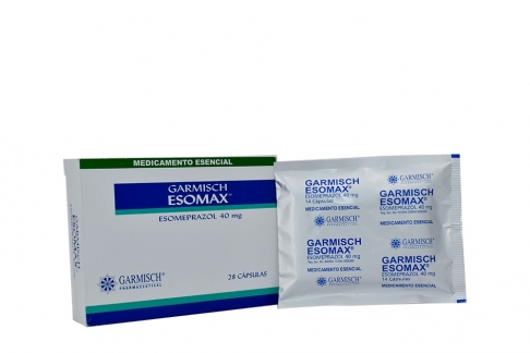 Garmisch Esomax 40 mg Caja Con 28 Cápsulas Rx