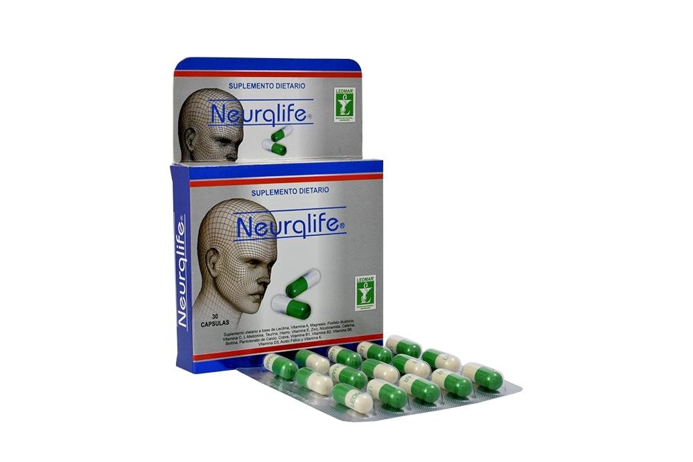 Neurqlife Caja Con 30 Cápsulas