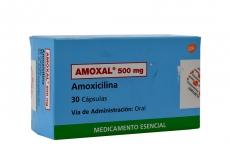 Amoxal 500 mg Caja Con 30 Cápsulas RX2