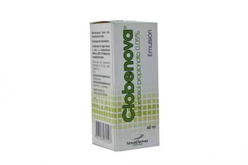 Clobenova Emulsión 0.05% Caja Con Frasco Con 60 mL Rx