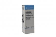 Albasol Solución Oftalmica Frasco Con 15 mL Rx