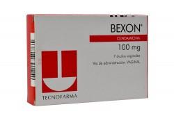 Bexon 100 mg Caja Con 7 Óvulos Vaginales Rx2