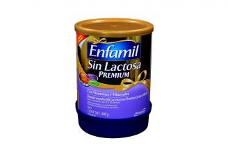 Enfamil Sin Lactosa Premium Tarro Con 400 g
