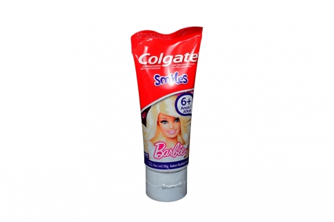 Crema Colgate Barbie Smiles Tubo Con 75 mL