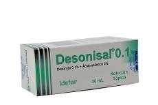 Desonisal 0.1% Caja Con Frasco Gotero X 30 mL RX