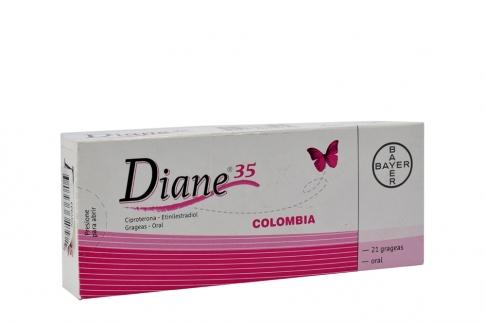 Diane 35 Caja X 21 Grageas Rx