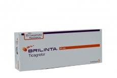 Brilinta 90 mg Caja Con 20 Comprimidos Recubiertos Rx4