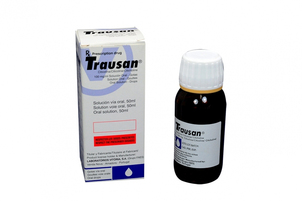 Trausan 100 mg / mL Solución Caja Con Frasco Con 50 mL Rx4
