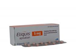 Eliquis 5 mg Caja Con  60 Tabletas Recubiertas Rx4