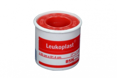Esparadrapo Leukoplast 1 X 1 Yarda Bolsa Con 1 Unidad