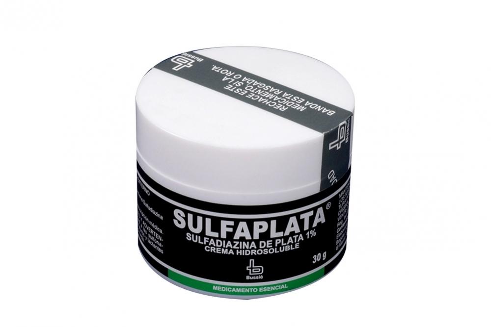 Sulfaplata Crema 1 % Pote Con 30 g