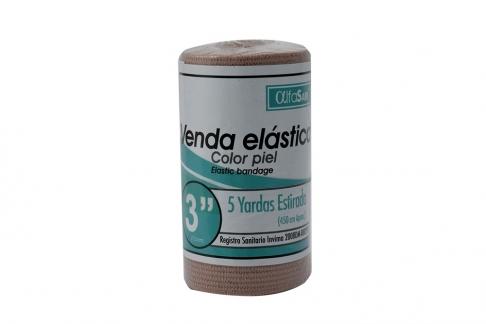 Venda Elástica Empaque Con 1 Unidad - Color Piel
